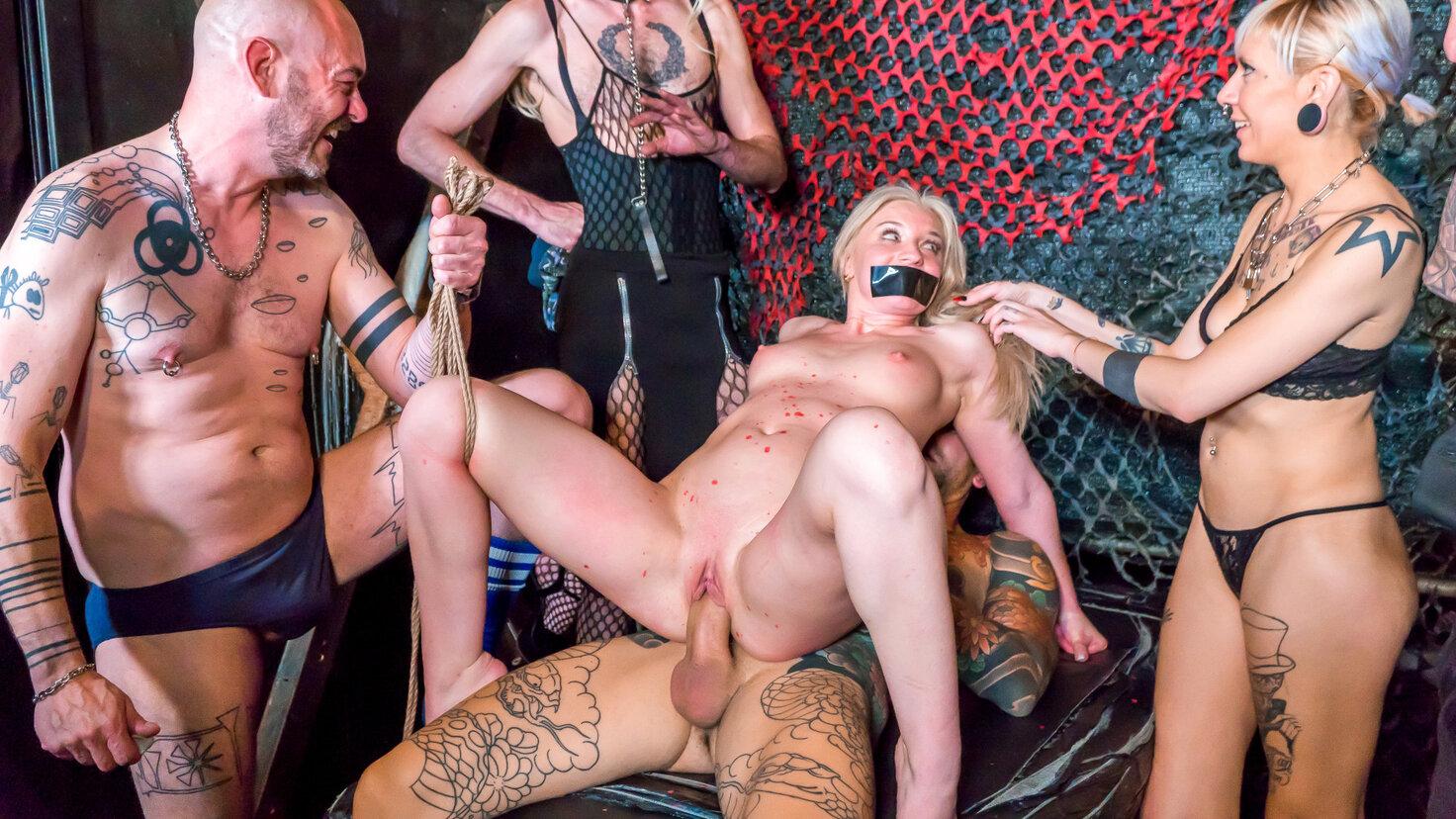 La primera sesión BDSM