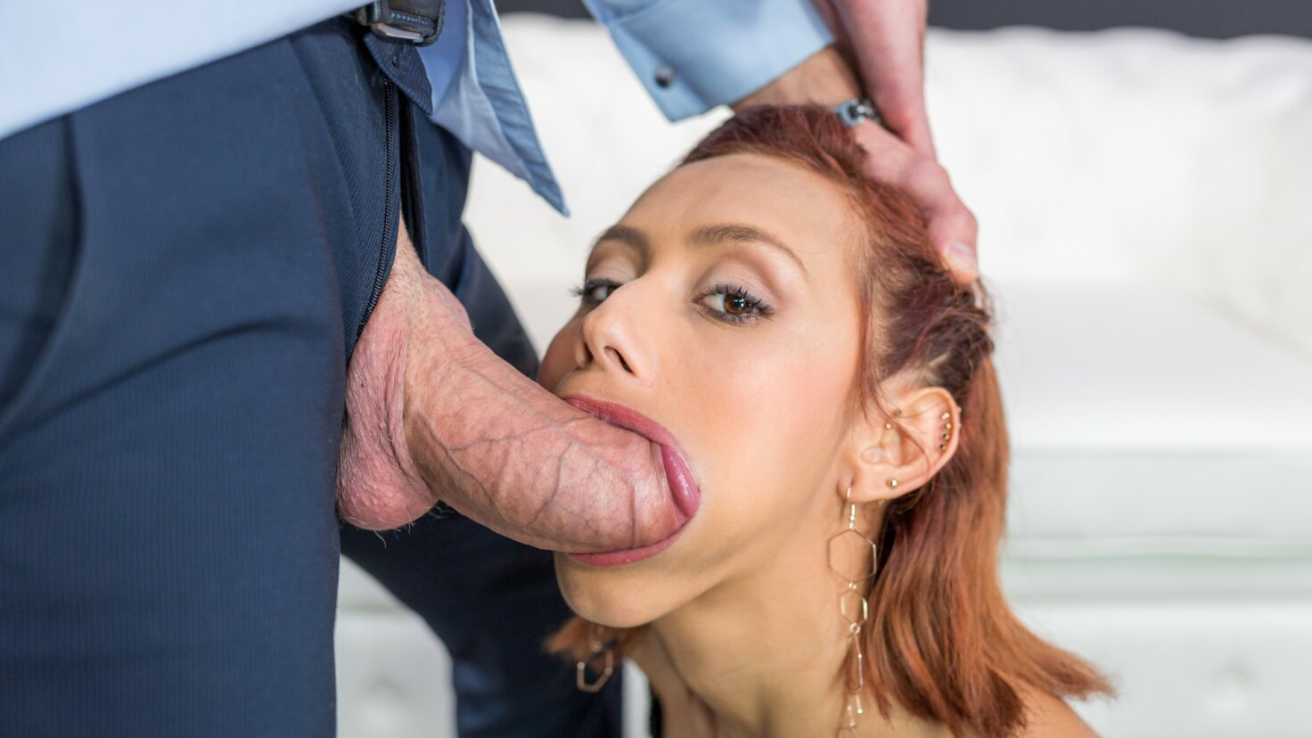 Sexy Latina fucked hard by a big dick