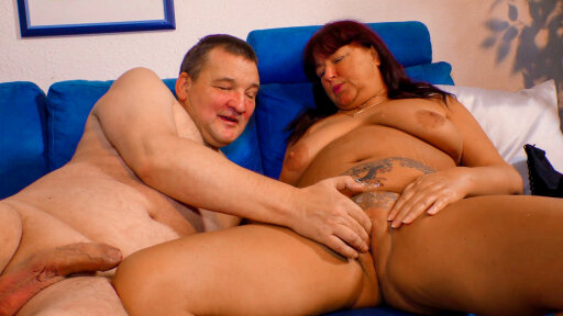 Dirty German amateur Maria H. enjoys a nice heavy fuck with Guenter H.