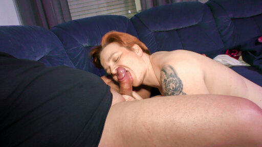 Mature German BBW housewife gets cum in mouth in hot sex session